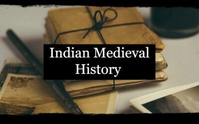 The Medieval History Of India