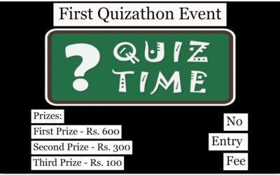 First Quizathon Event – Mixed Quiz Contest