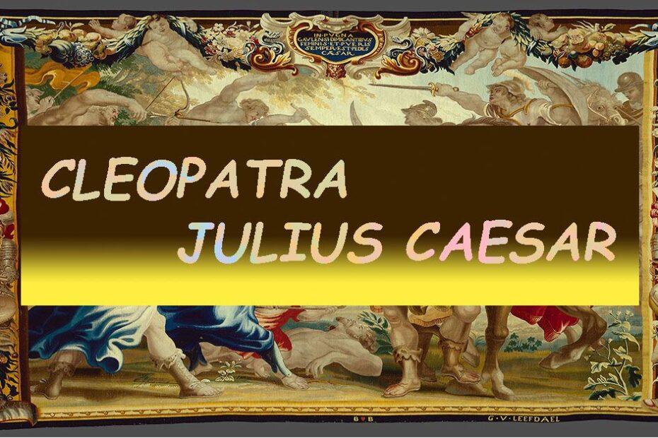 Cleopatra Julius Caesar Featured Image