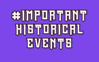 50 Most Important Events of World History