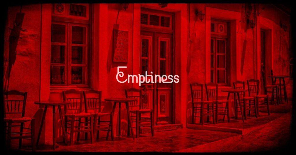empty cafe emptiness