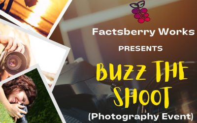 """First """"Buzz The Shoot"""" Event – A Photography Contest"""